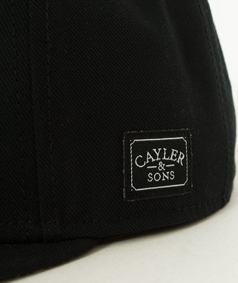 Cayler & Sons-WL Paiz Snapback Black/White