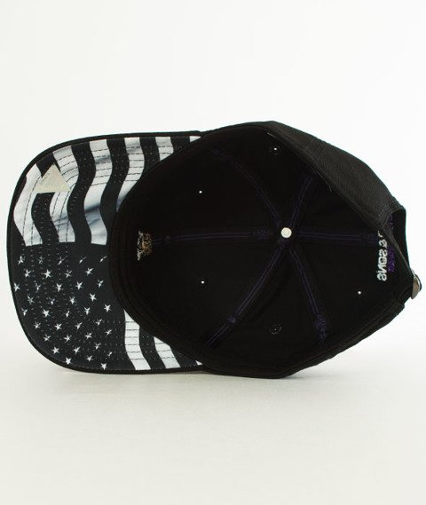 Cayler & Sons-WL Purple Swag Curved Snapback Black