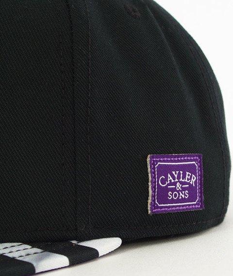 Cayler & Sons-WL Purple Swag Snapback Black