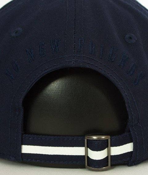 Cayler & Sons-WL Stay Down Curved Snapback Navy/Grey