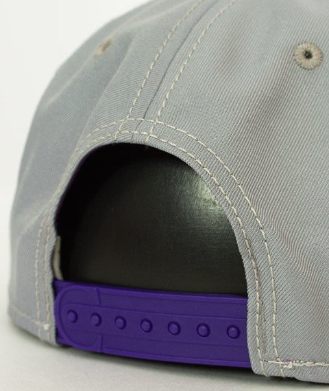 Cayler & Sons-WL Styro Snapback Grey/Purple