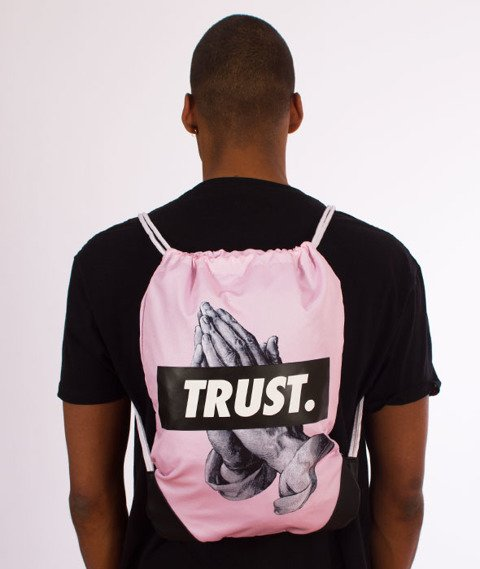 Cayler & Sons-WL Trust Gym Bag Pale Pink/Black
