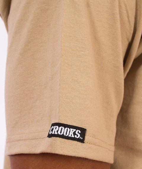 Crooks & Castles-Classified T-Shirt Khaki