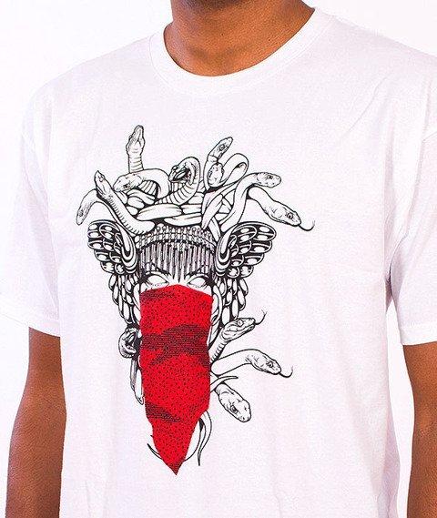 Crooks & Castles-Medusa Speckle Tiger T-Shirt White