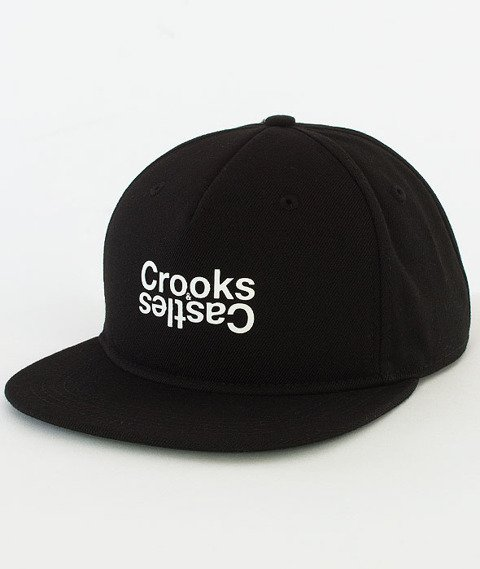 Crooks & Castles-Opposite Snapback Czarny