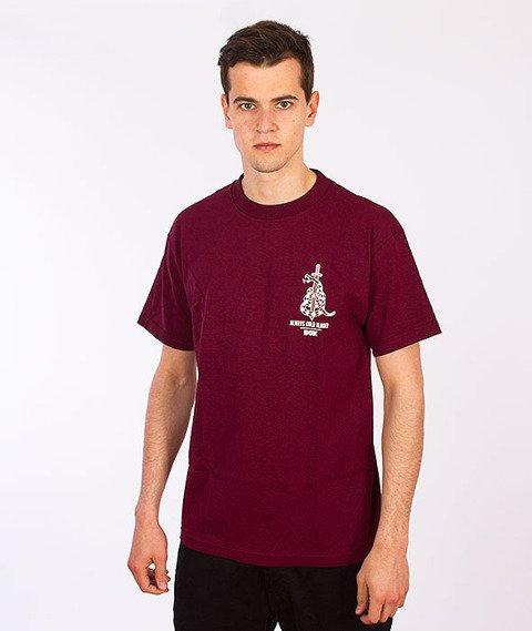 DGK-Venom T-Shirt Bordowy