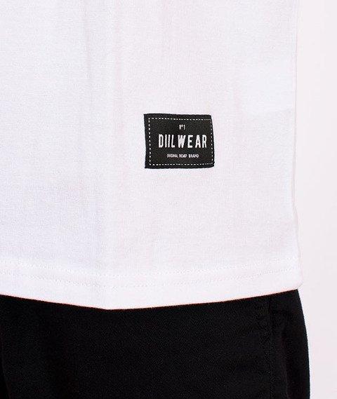 DIIL-Full Logo T-shirt Biały