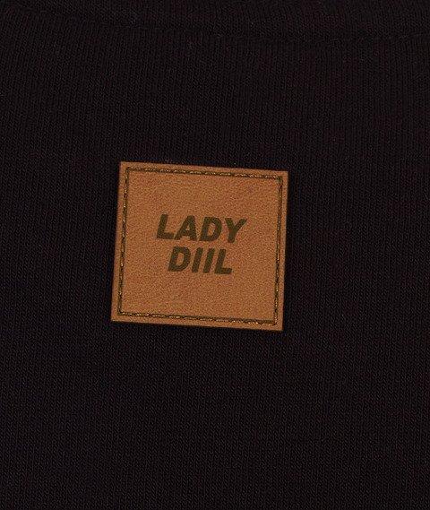 DIIL-Klasyk Reglan Harvard Bluza Czarna