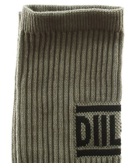 DIIL-Knuckle Skarpetki Długie Szare