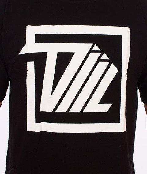 DIIL-Next Level Square T-Shirt Czarny