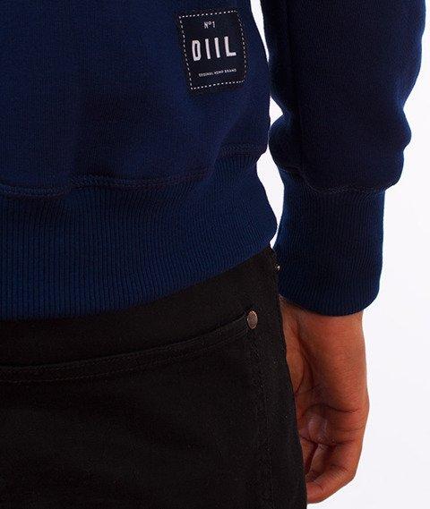 DIIL-Reglan Brand Bluza Kaptur Granatowa