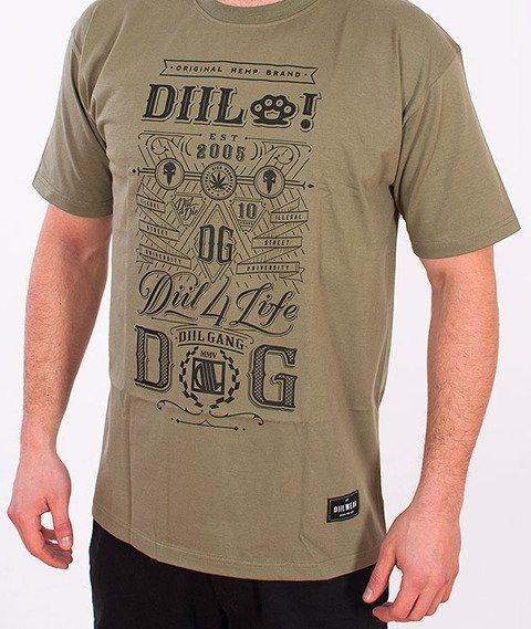 DIIL-True Gang T-shirt Khaki
