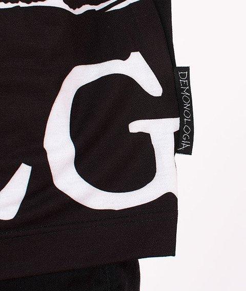 Demonologia-DMNLG Fullprint T-shirt Czarny