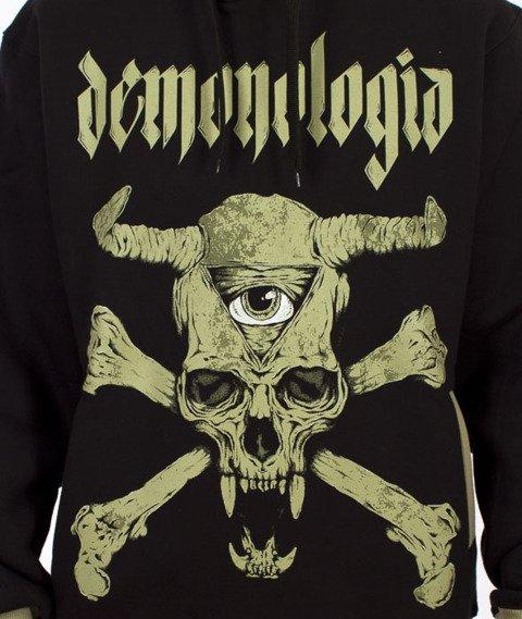 Demonologia-Evileye Bluza Kaptur Czarna