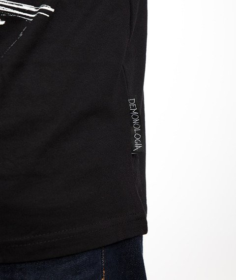 Demonologia KAPELUSZNIK T-Shirt Czarny