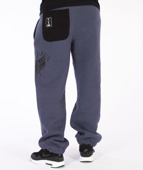 Demonologia-Zombie Spodnie Dresowe Szare