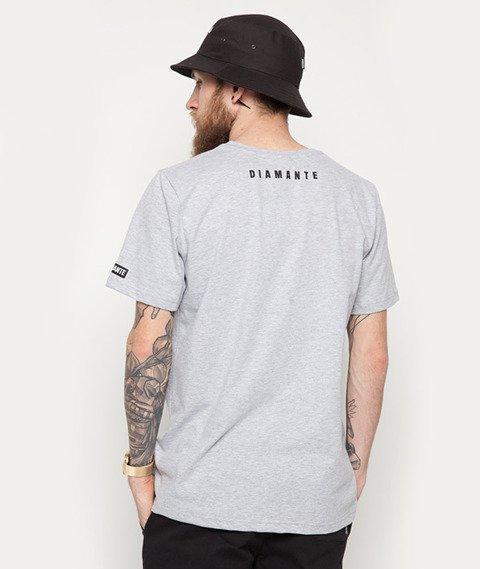 Diamante-Born Smoker T-Shirt Szary