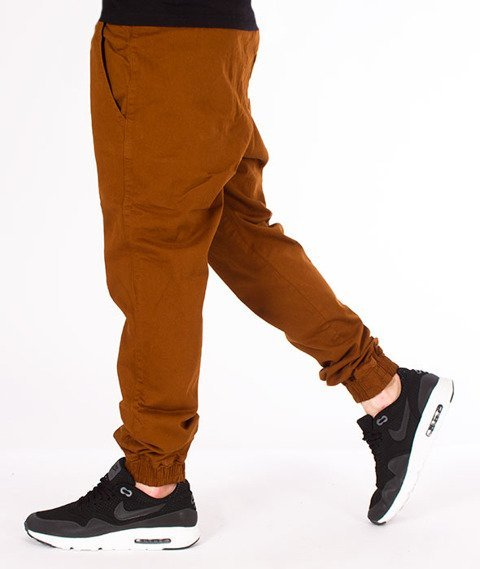 Diamante-Classic Jogger RM Spodnie Miedziane