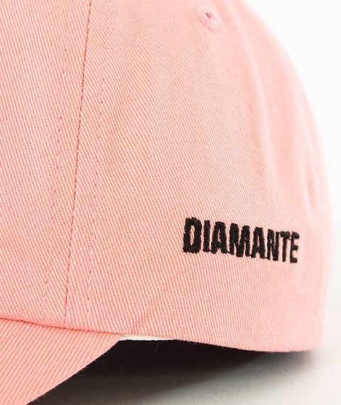 Diamante-Don't Even Fuckin' Try Czapka Snapback Różowa