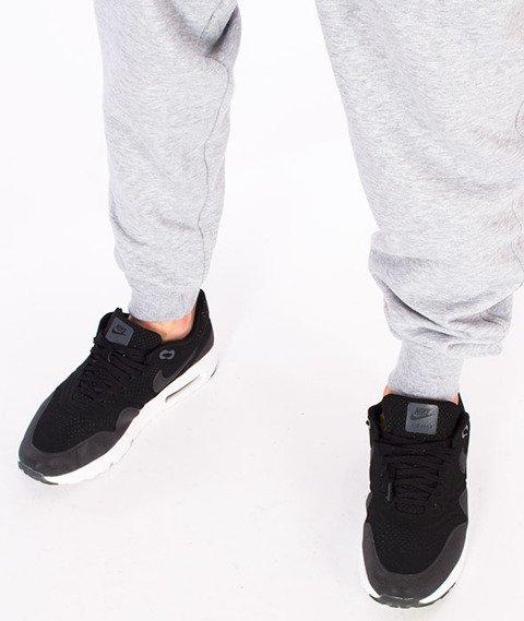 Diamante-Fly High Hipster Spodnie Dresowe Szare