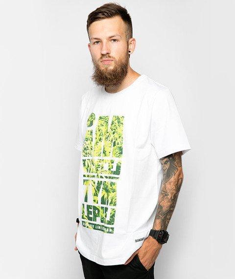 Diamante-Im Więcej Tym Lepiej T-Shirt Biały/Weed