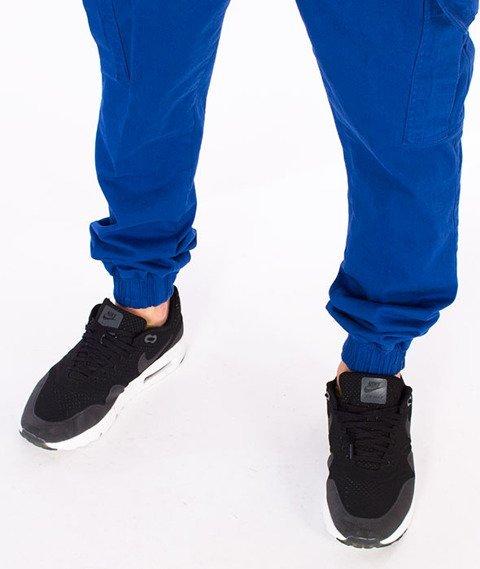 Diamante-Jogger Cargo Spodnie Granatowe