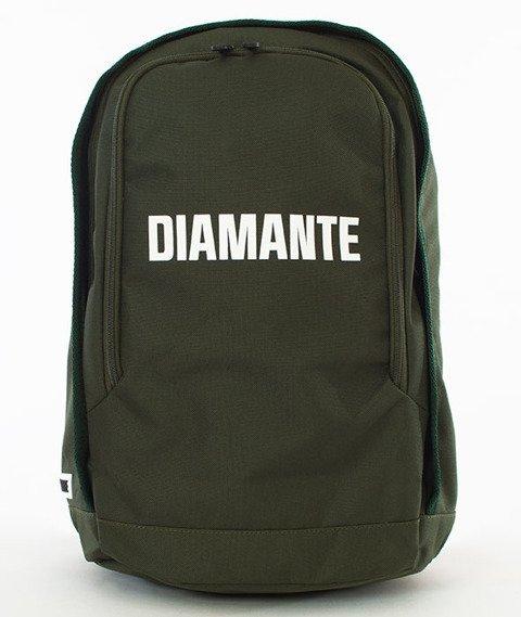Diamante-LOGO 3 Plecak Oliwkowy