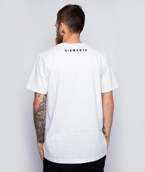 Diamante-Nigdy Się Nie Poddam T-Shirt Biały
