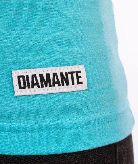 Diamante-Sore T-shirt Damski Ocean Melange