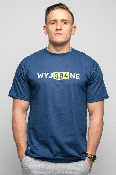 Diamante-WYJ384NE T-Shirt Granatowy