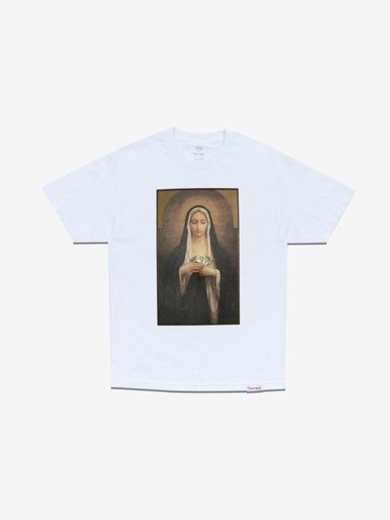 Diamond SOLEMN T-Shirt Biały