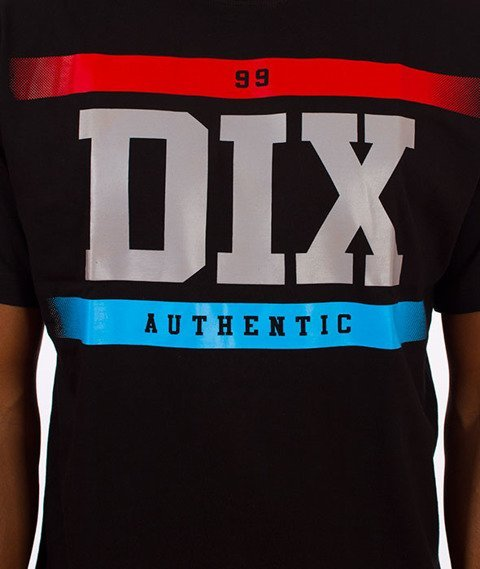Dixon37-DIX Gradient T-Shirt Czarny