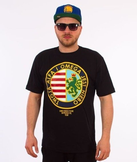 El Polako-Alfa Omega T-Shirt Czarny