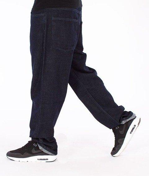 El Polako-Betonowe Regular Jeans Spodnie Dark Blue