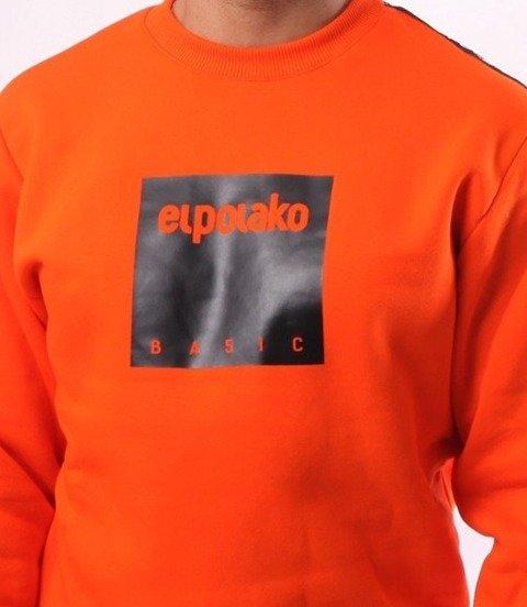 El Polako-Box Style Bluza Pomarańcz