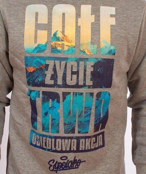 El Polako-Całe Życie Bluza Szara