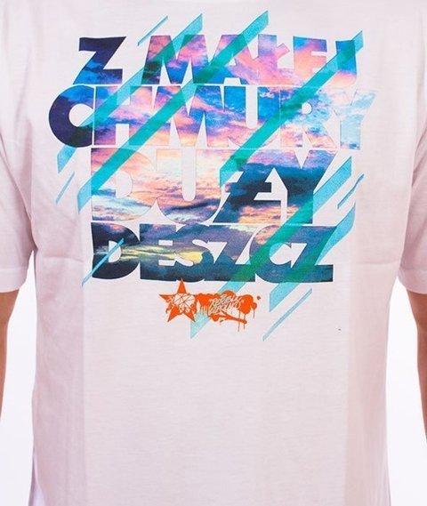 El Polako-Chmury T-Shirt Biały