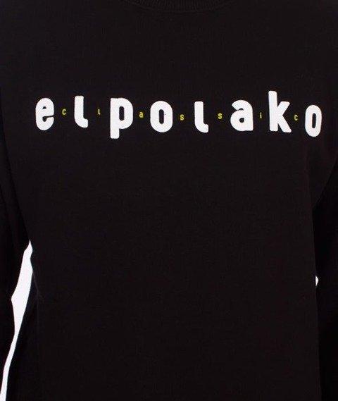 El Polako-Classic BLM Bluza Czarna