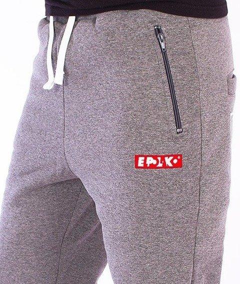 El Polako-Classic Fit Spodnie Dresowe Grafitowe
