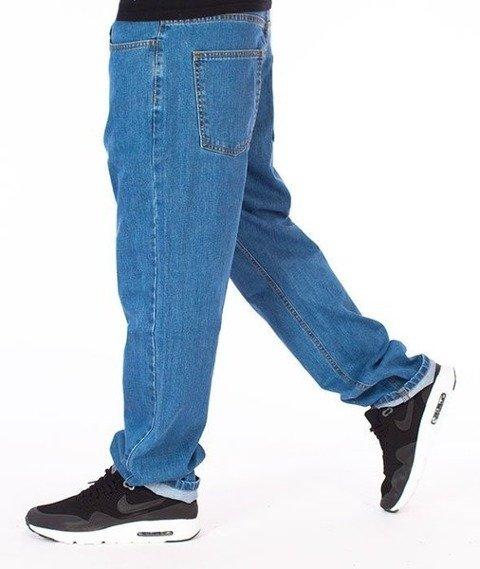 El Polako-Classic Slim Jeans Spodnie Light Blue