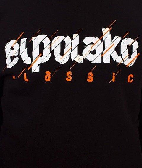 El Polako-Cut Classic Bluza Czarna