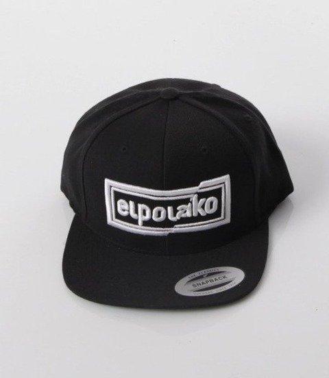 El Polako-Cut Colors Snapback Czarny