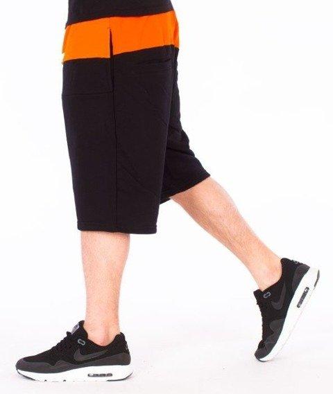 El Polako-Cut Logo Spodnie Krótkie Dresowe Czarne