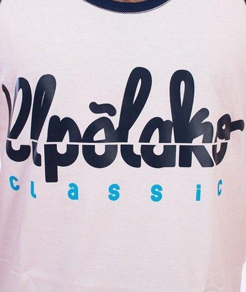 El Polako-Cut Logo Tank-Top Biały