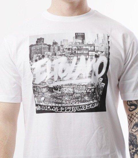 El Polako-Destroyed Town T-Shirt Biały