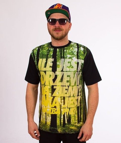 El Polako-Drzewa T-Shirt Czarny