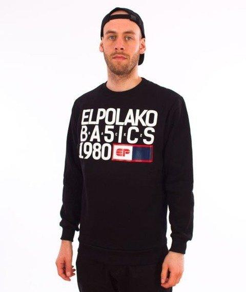 El Polako-EP Basic Crewneck Bluza Czarny