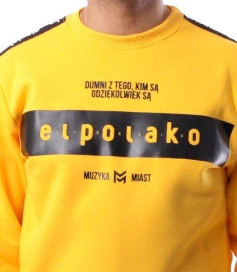 El Polako-EP Belt Bluza Żółty