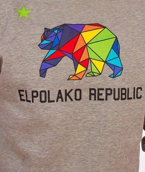 El Polako-EP Republic Bluza Szara