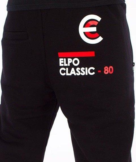 El Polako-EP80 Regular Spodnie Dresowe Czarne